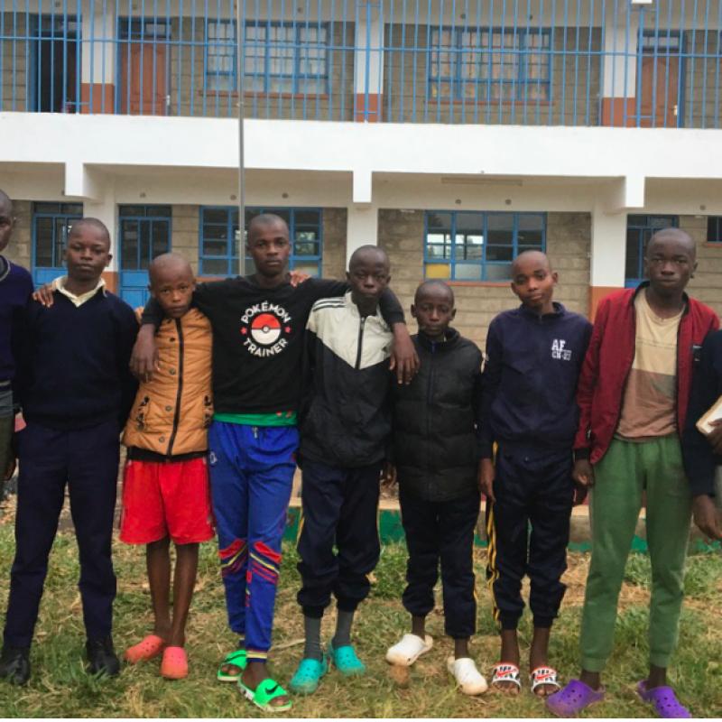 Alumnos de Kwetu