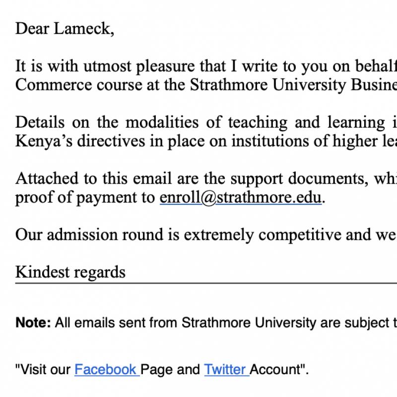 Carta Lameck