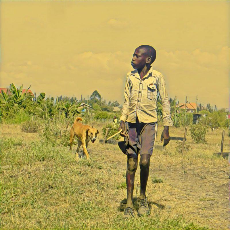 Benjamin, nuestro candidato masai