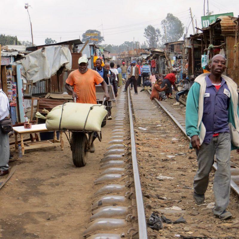 Slum de Nairobi