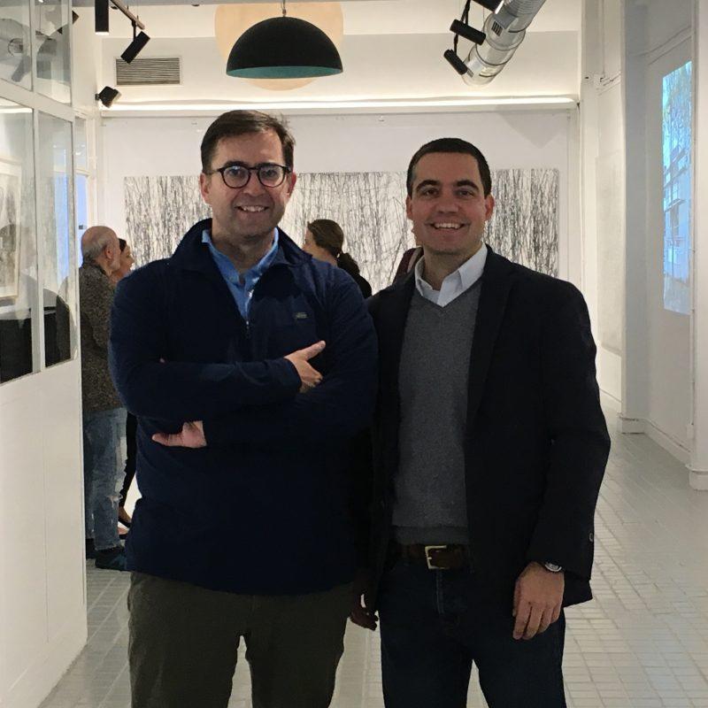 Javier Aranguren y Manuel Domínguez