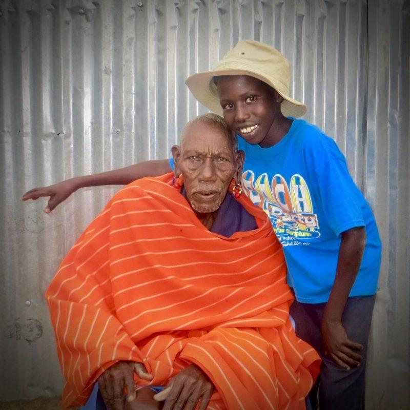 Benjamin y abuelo