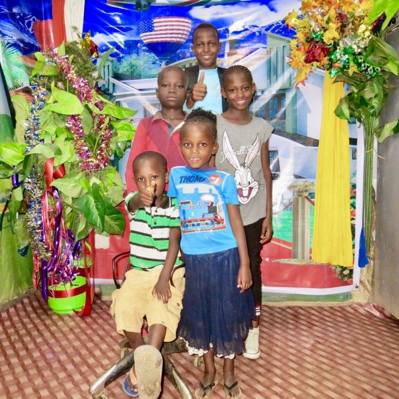 Niños en Kibera Karibu Sana